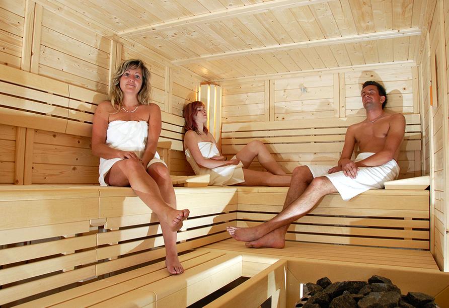 Hotel Im Kräutergarten in Cursdorf im Thüringer Wald, Sauna