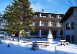 Hotel Im Kräutergarten in Cursdorf im Thüringer Wald, Außenansicht