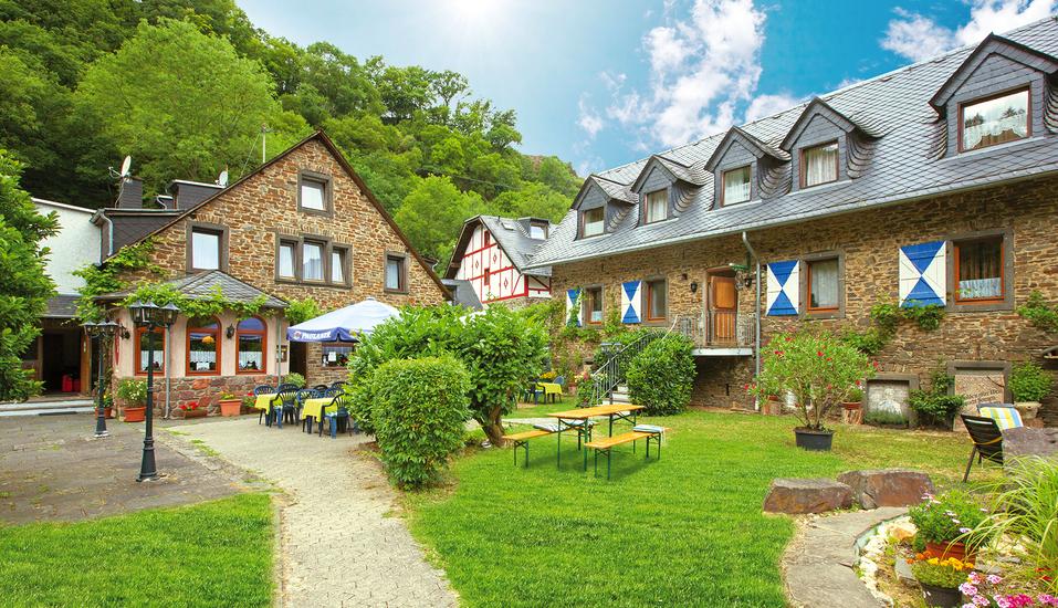Mühlen Hotel Konschake in Burgen an der Mosel Außenansicht