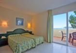 Club Santa Ponsa Hotel, Zimmer