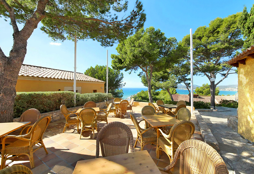 Club Santa Ponsa Hotel, Terrasse