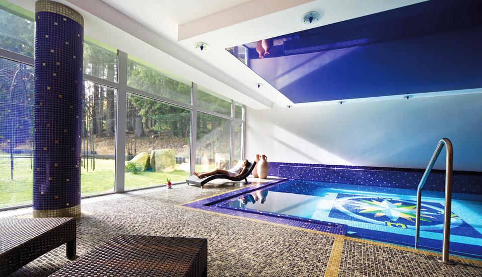 Spa & Wellness Hotel St. Moritz, Hallenbad