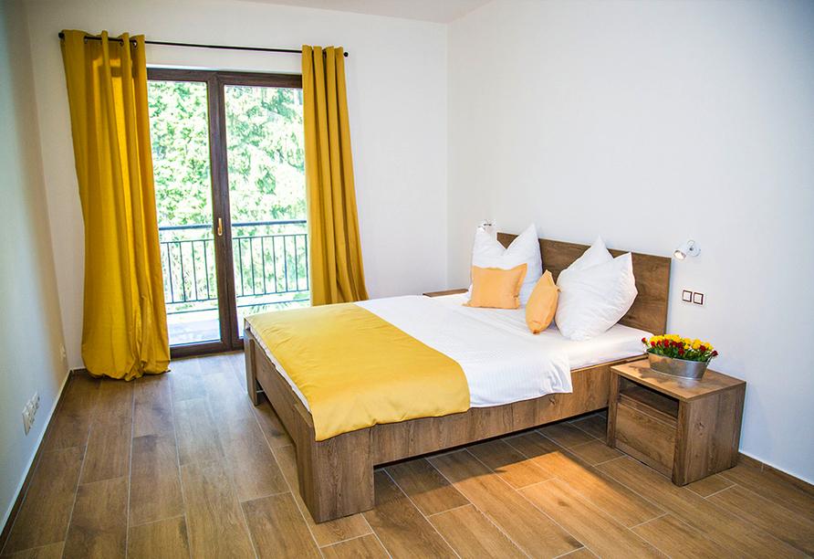 Spa & Wellness Hotel St. Moritz, Schlafzimmer