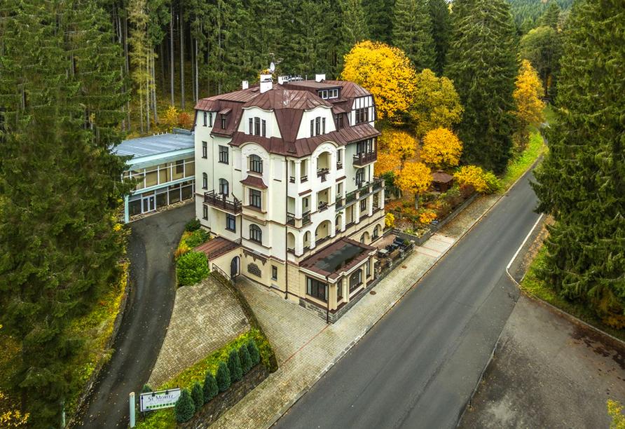 Spa & Wellness Hotel St. Moritz, Außenansicht