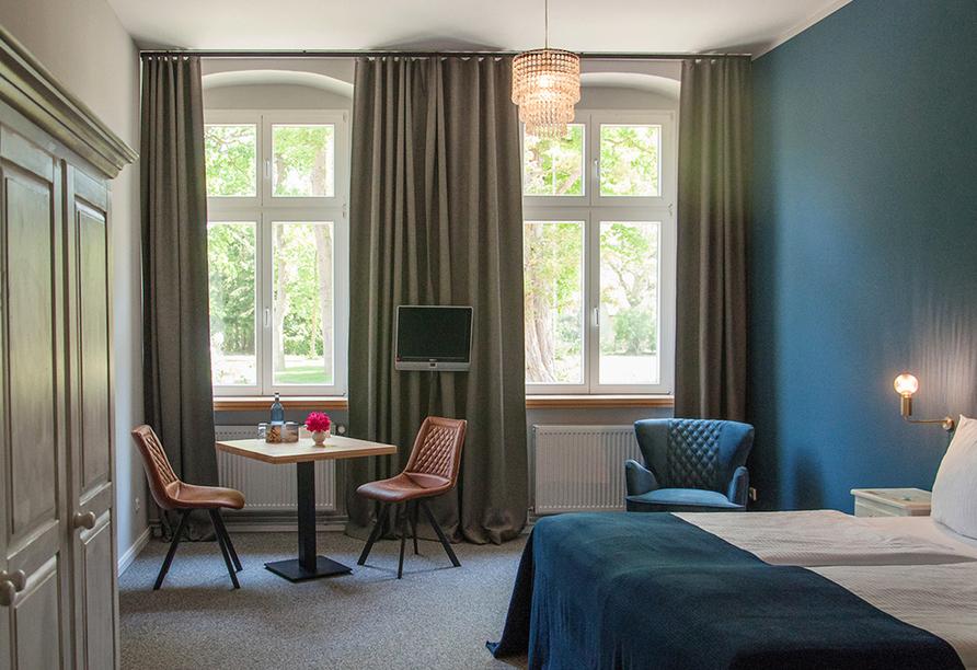 Hotel Lieblingsplatz Bohlendorf, Beispiel eines Doppelzimmers