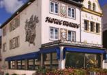 Hoteltraube in Rüdesheim, Außenansicht