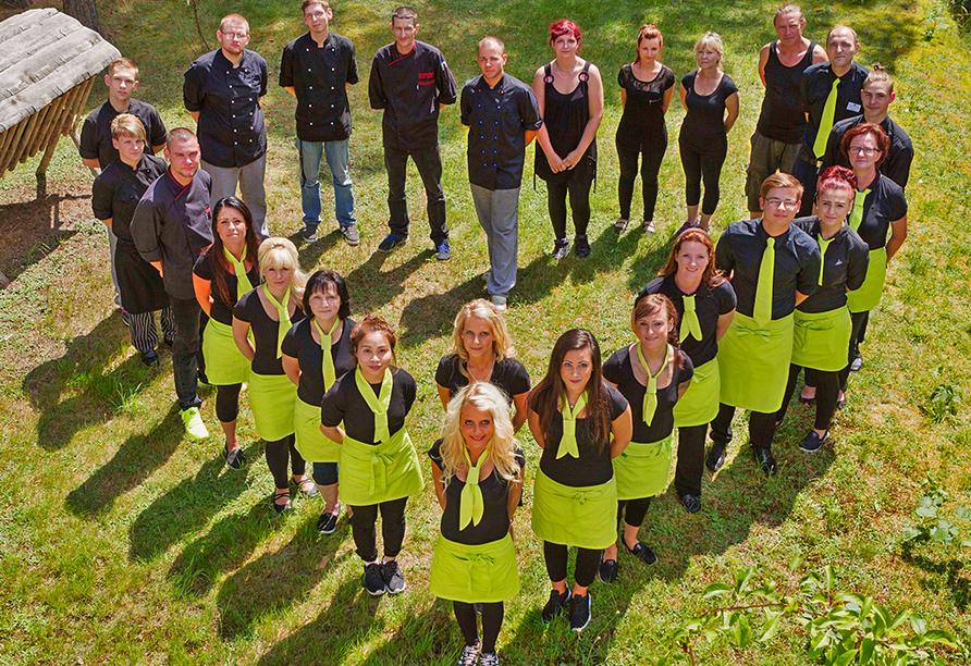 Spree-Waldhotel Cottbus in Brandenburg, Team