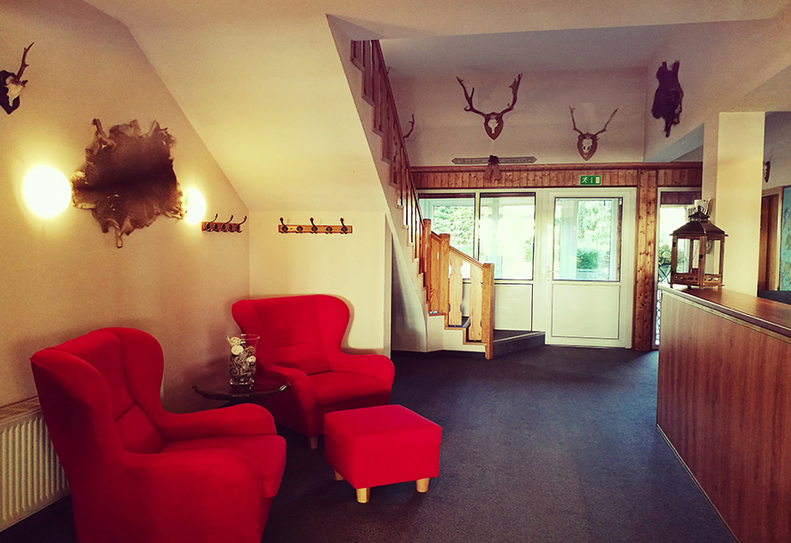 Hotel Jägerhof, Lobby