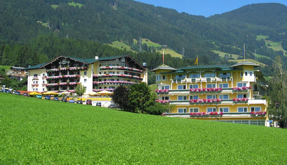 Wellnesshotel Kohlerhof Fügen Zillertal, Außenansicht