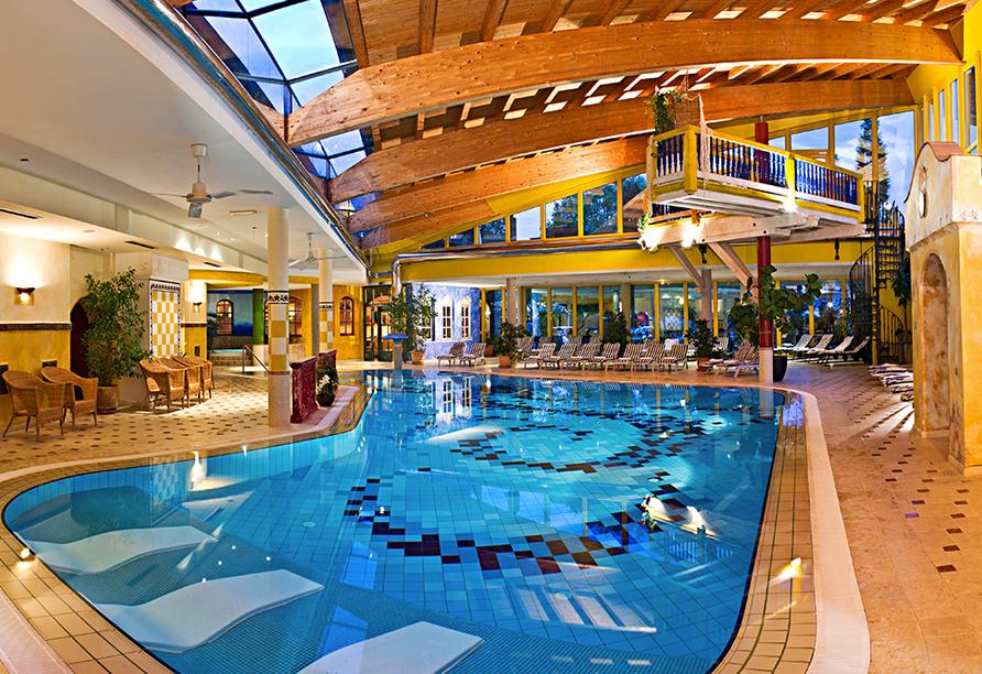 Wellnesshotel Kohlerhof Fügen Zillertal, Erlebnishallenbad