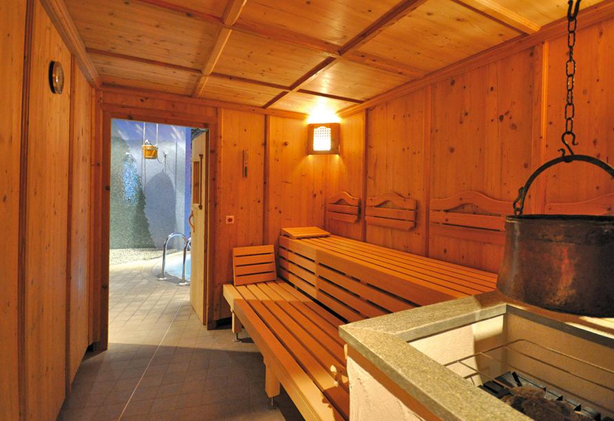 Wellnesshotel Kohlerhof Fügen Zillertal, Sauna