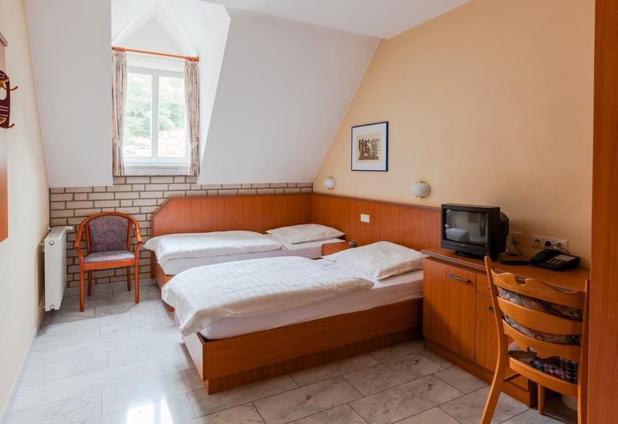 Hotel Klostermühle in Heimbach in der Eifel Zimmerbeispiel
