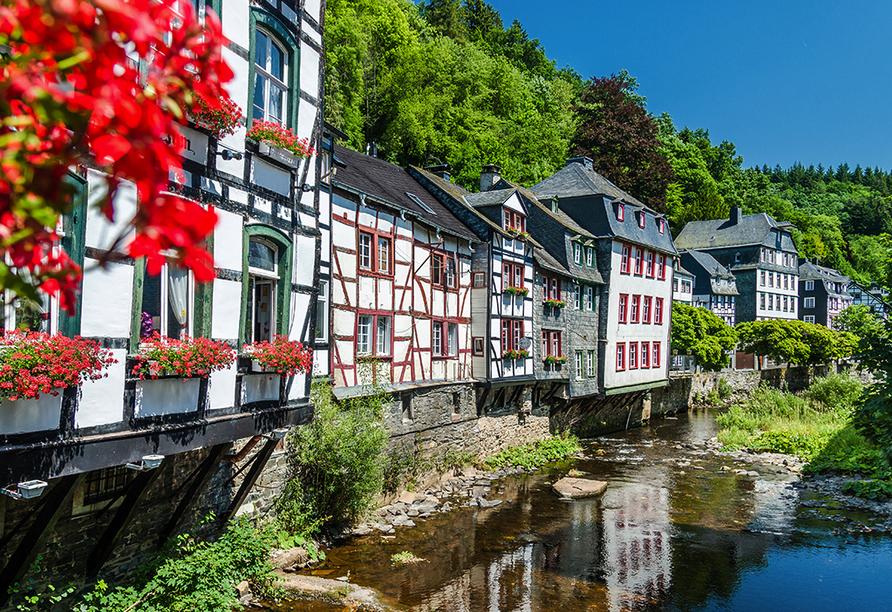 Hotel Klostermühle in Heimbach in der Eifel, Ausflugsziel Monschau