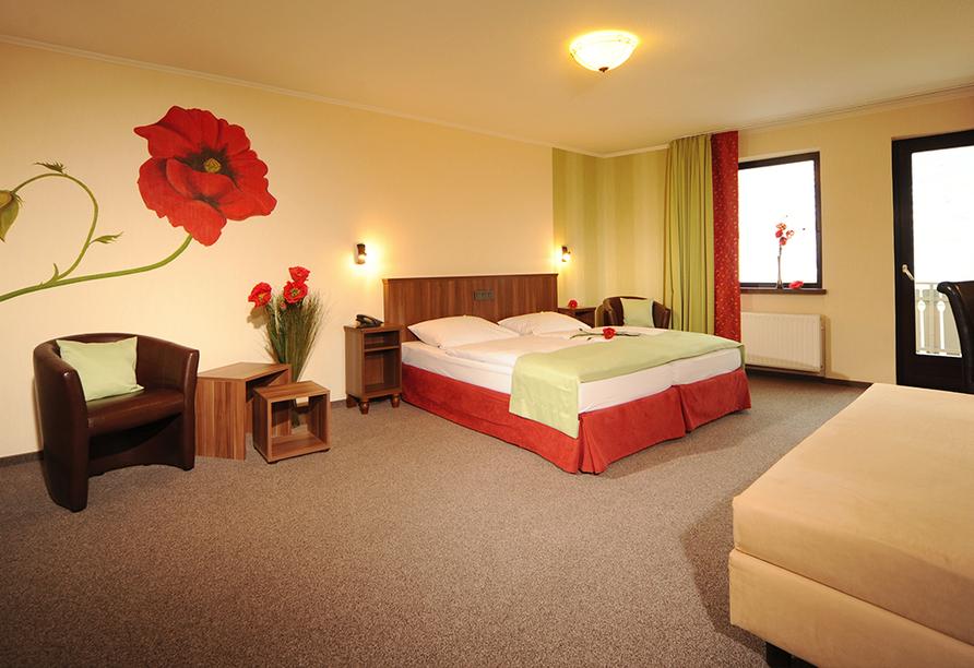 Hotel Lellmann in Löf, Zimmerbeispiel Moselblick
