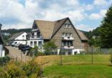 Hotel zur Fredeburg in Bad Fredeburg im Sauerland Außenansicht