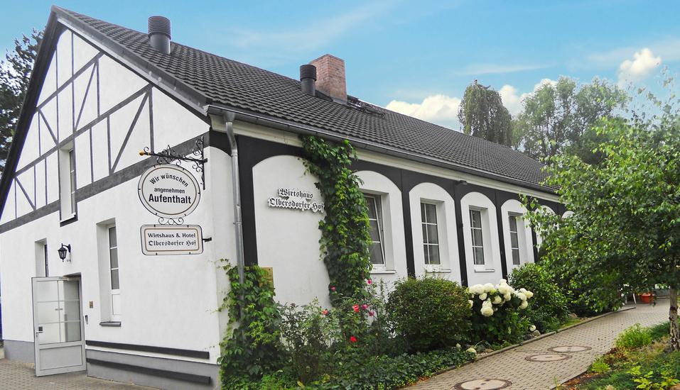 Hotel Olbersdorfer Hof in der Oberlausitz, Außenansicht