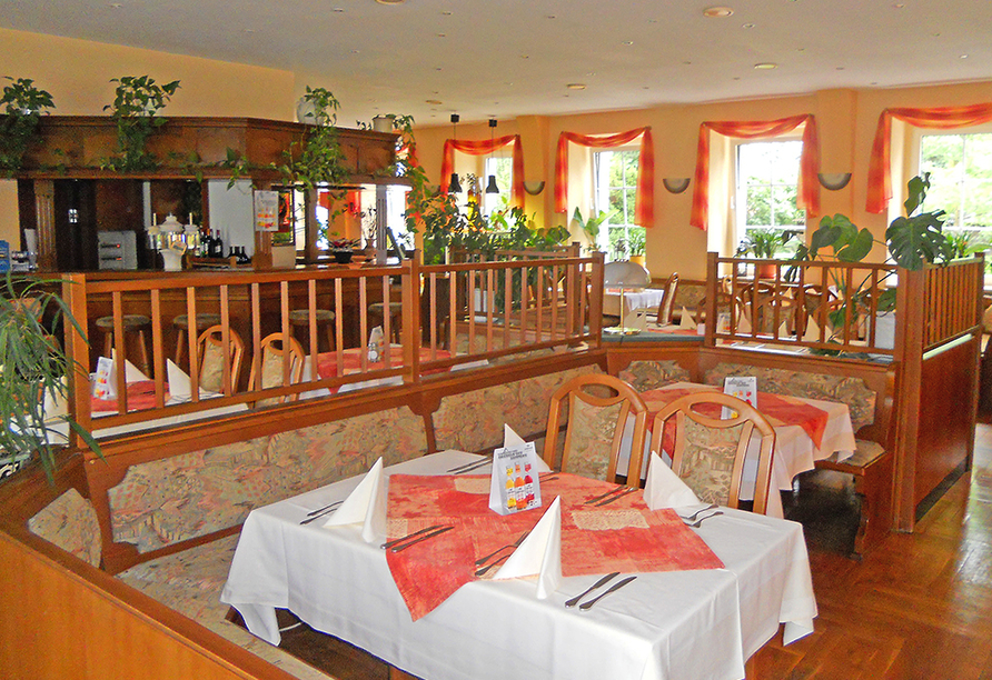 Hotel Olbersdorfer Hof in der Oberlausitz, Restaurant