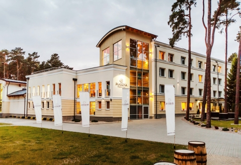 Marena Wellness Spa Resort Miedzywodzie, Außenansicht