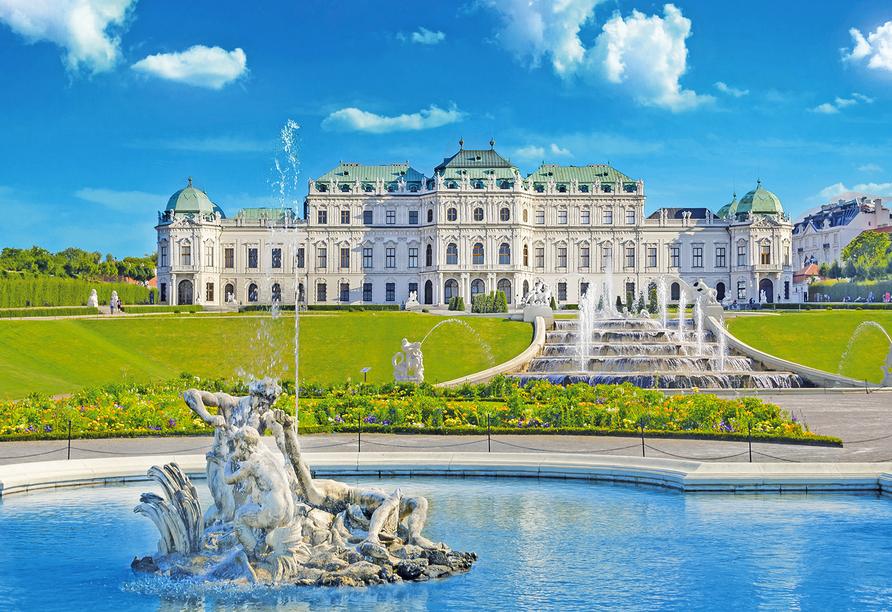 Hotel roomz Vienna Parter in Wien, Österreich, Schloss Belvedere