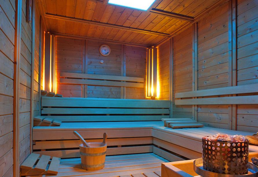 Landhotel Seeg, Sauna
