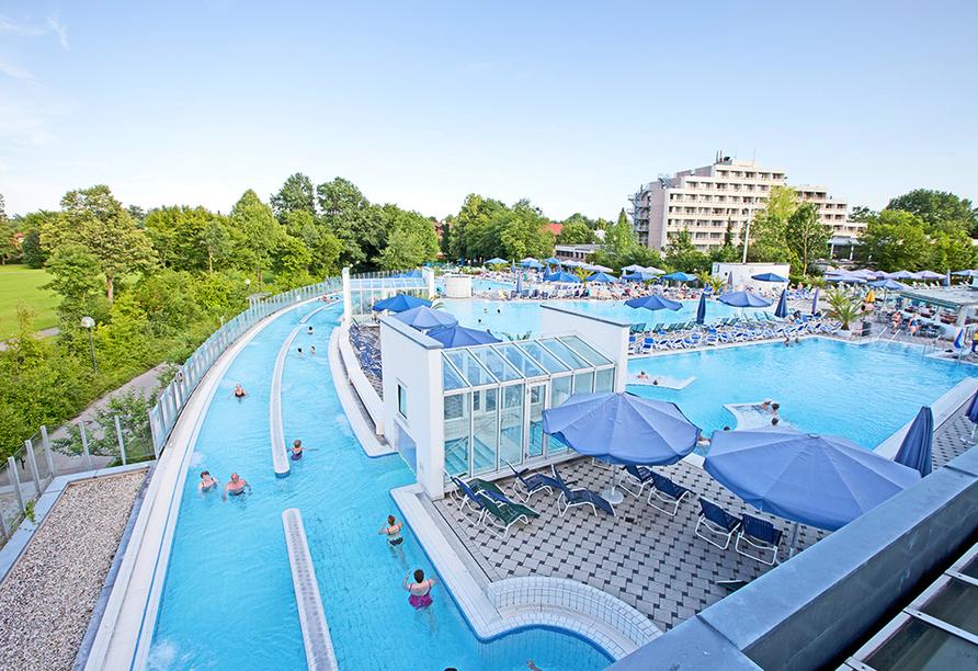 Hotel Würdinger Hof in Bad Füssing im Bäderdreieck, Europa Therme