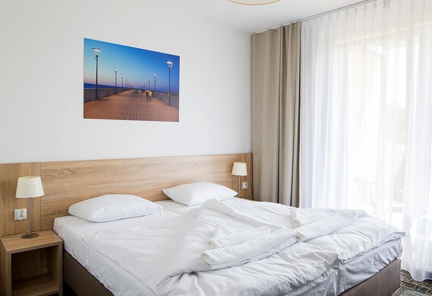 Hotel Siesta, Gribow, Polnische Ostsee, Polen, Zimmer