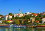MS Ariana,  Historische Altstadt von Belgrad