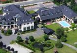 Hotel Christinenhof & Spa in Tauer im Spreewald Luftbild