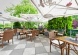 Hotel Christinenhof & Spa in Tauer im Spreewald, Terrasse