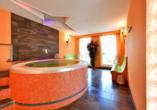 Hotel Christinenhof & Spa in Tauer im Spreewald, Whirlpool