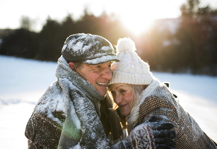 Best Western Hotel Halle-Merseburg, Senioren im Schnee