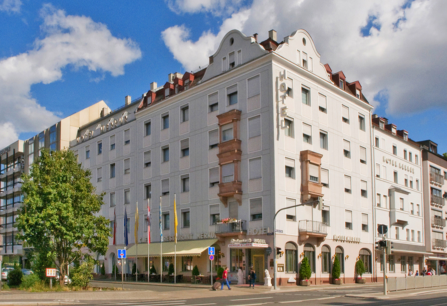 Ringhotel Loew's Merkur in Nürnberg, Außenansicht