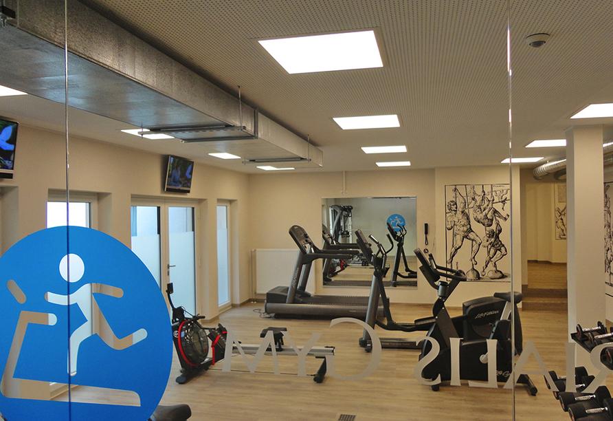 Ringhotel Loew's Merkur in Nürnberg, Fitnessraum