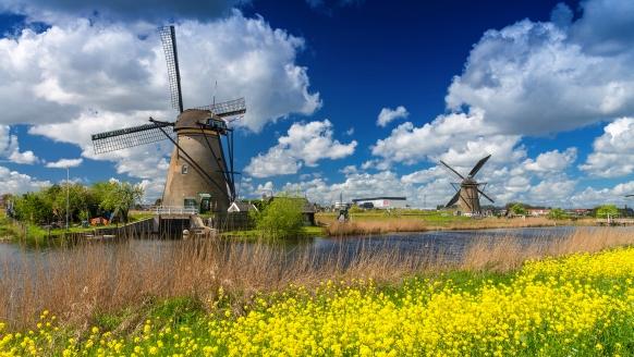 Leonardo Hotel Papendrecht Niederlande, Windmühlen von Kinderdijk