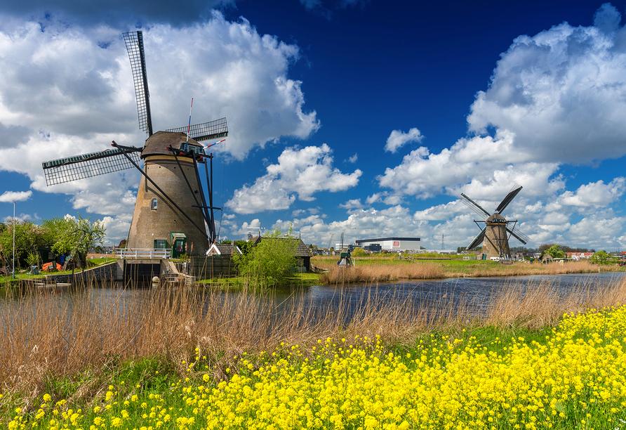 Apollo Hotel Papendrecht Niederlande, Windmühlen von Kinderdijk