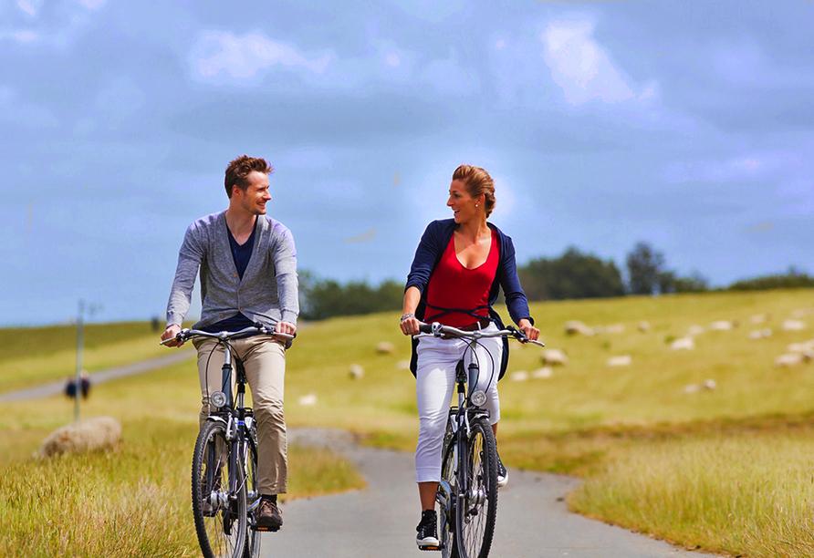 Apollo Hotel Papendrecht Niederlande, Radfahrer