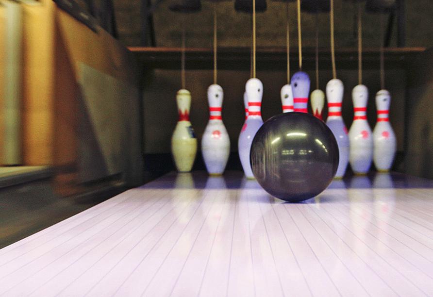FAIR RESORT in Jena in Thüringen, Bowlingbahn