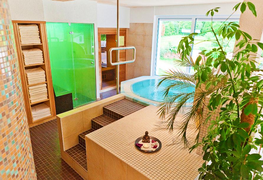 Ferienhotel Mühlleithen in Klingenthal im Vogtland Wellnessbereich