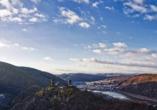 Mosel-Traumpfade, Fernblick Winter