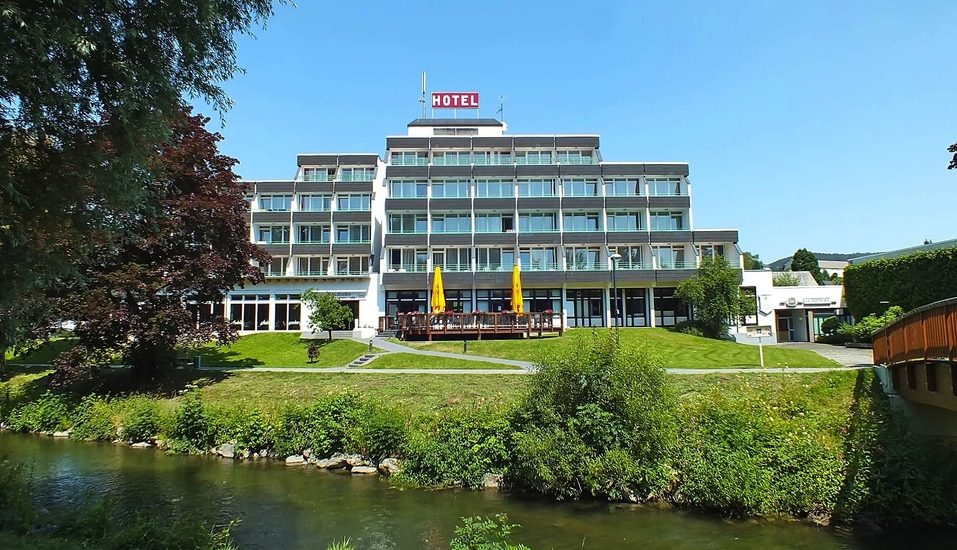 Parkhotel Olsberg in Olsberg im Hochsauerland Außenansicht