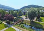 Parkhotel Olsberg in Olsberg im Hochsauerland Aussicht vom Balkon