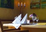 Hotel Das Alte Kurhaus in Lisberg-Trabelsdorf in Oberfranken, Restaurant