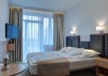 Hotel Perelka in Kolberg, Beispiel Doppelzimmer