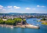 Deutsche Eck in Koblenz