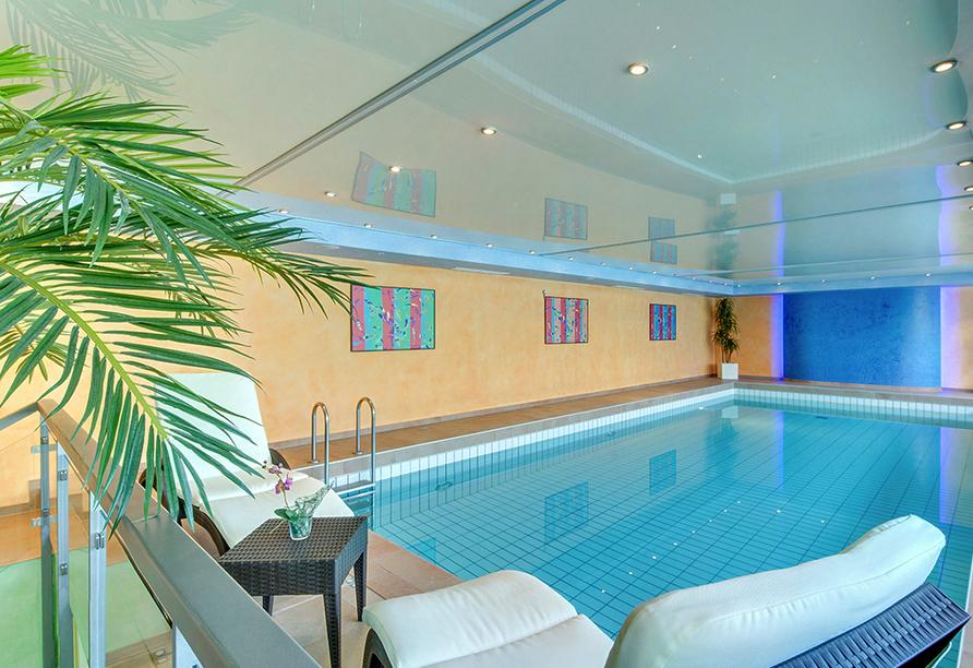 Best Western Plus Hotel Steinsgarten, Hallenbad
