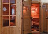 Hotelferienanlage Friedrichsbrunn, Sauna