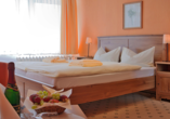 Hotelferienanlage Friedrichsbrunn, Zimmer