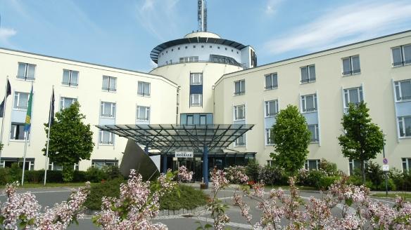Hotel Meerane in Meerane, Außenansicht