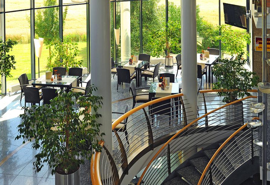 Hotel Meerane in Meerane, Wintergarten