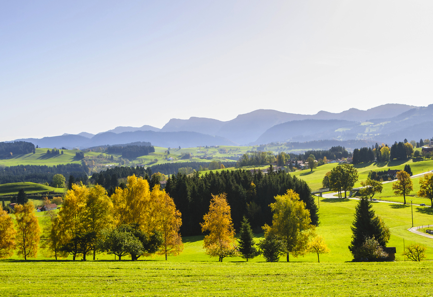 Hotel Ochsen in Kißlegg im Allgäu, Natur